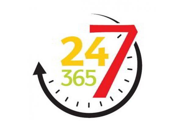 24x7x365